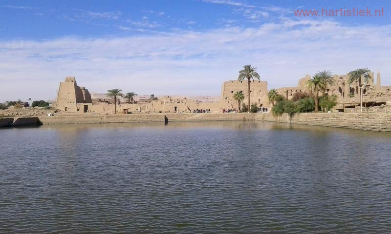 Heilige Meer te Karnak