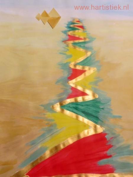 het goud laverend over de Nijl is liefde en vruchtbaarheid