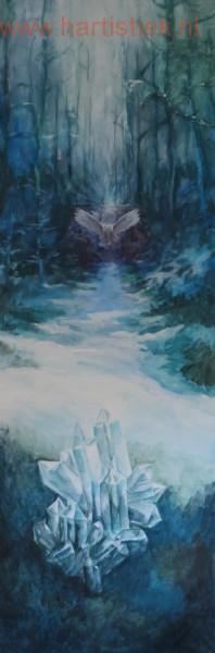 De sneeuwuil en de kristal