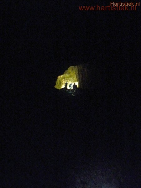 Bezoek aan de katharen(inwijdings)grot in Z Frankrijk