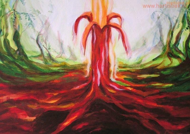 4 Energieën in de natuur....expressie van mijn beelden uit de natuur