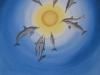 24 Dolfijnen wijzen ons de centrale zon.