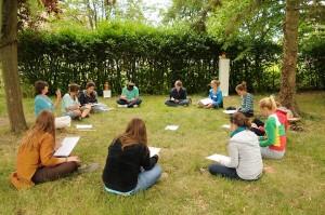 Jongerenworkshop in Frankrijk